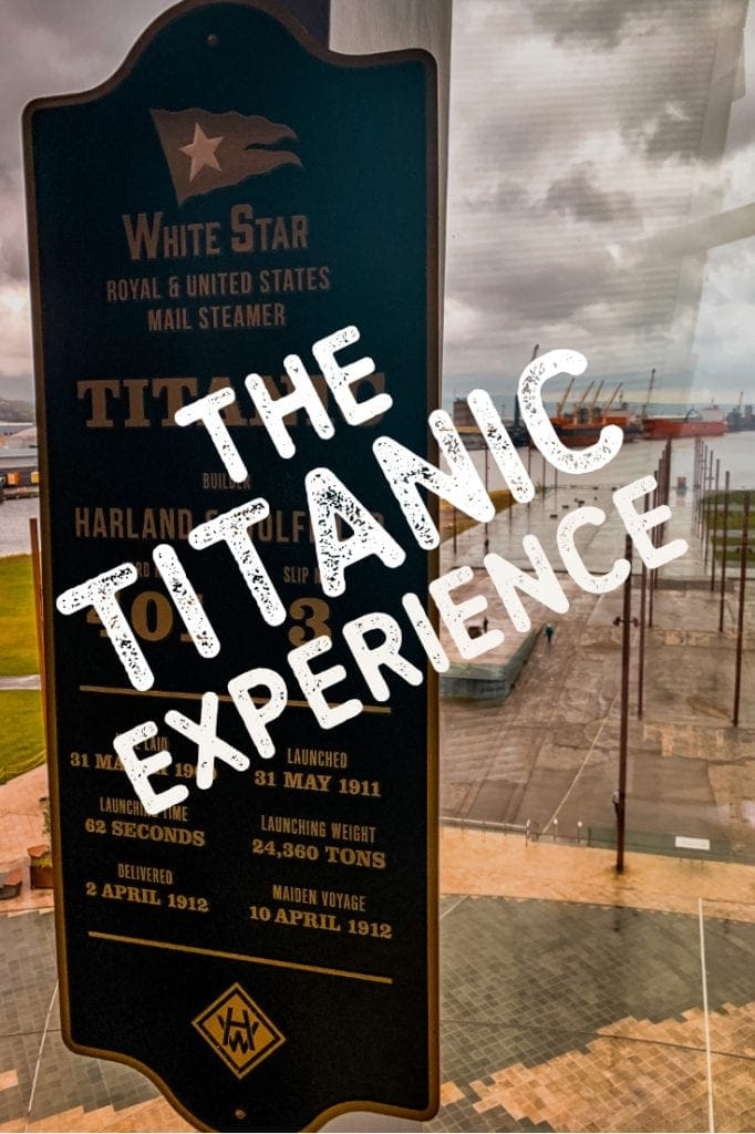 It's one of the main attractions in Belfast, Ireland. The Titanic Experience tells the story of the most famous ship in the world.