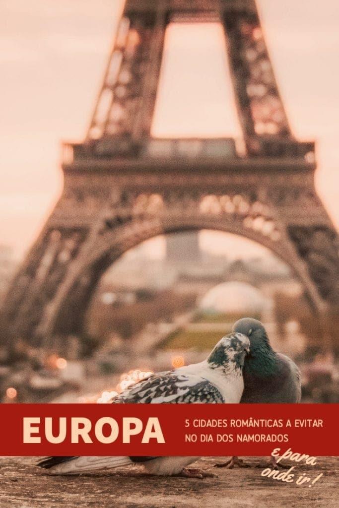 Está a pensar viajar no Dia dos Namorados? Os destinos românticos na Europa podem tornar-se num verdadeiro pesadelo por esta altura. Saiba quais deve evitar e quais a escolher para ser feliz para todo o sempre.