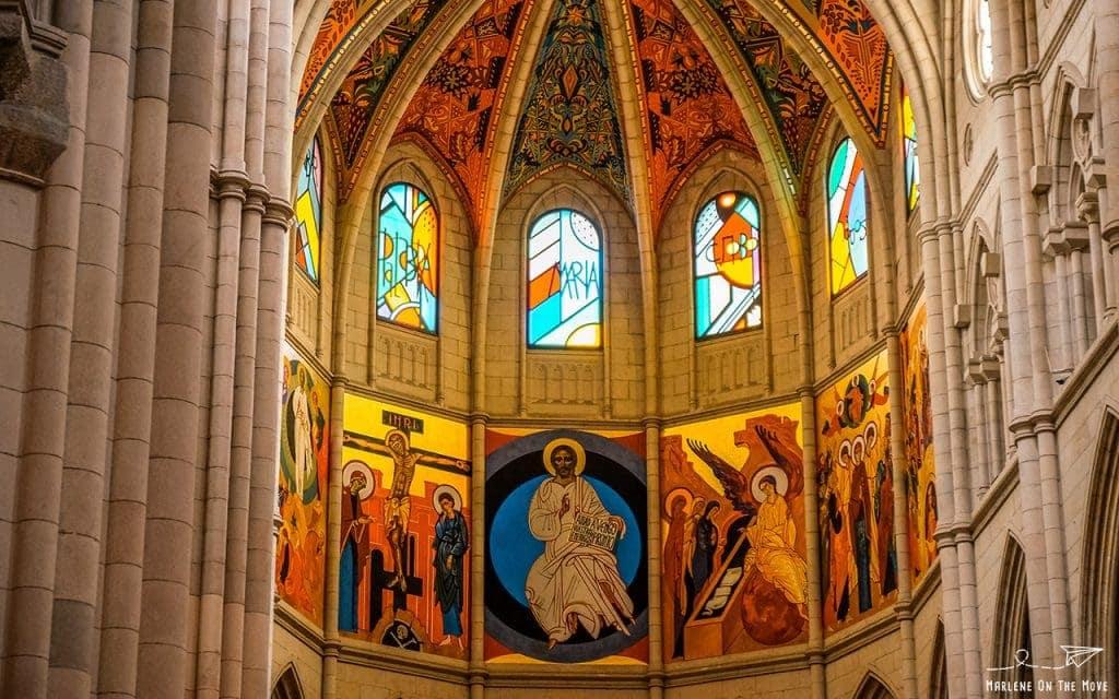 Madrid Igreja Almudena Cathedral