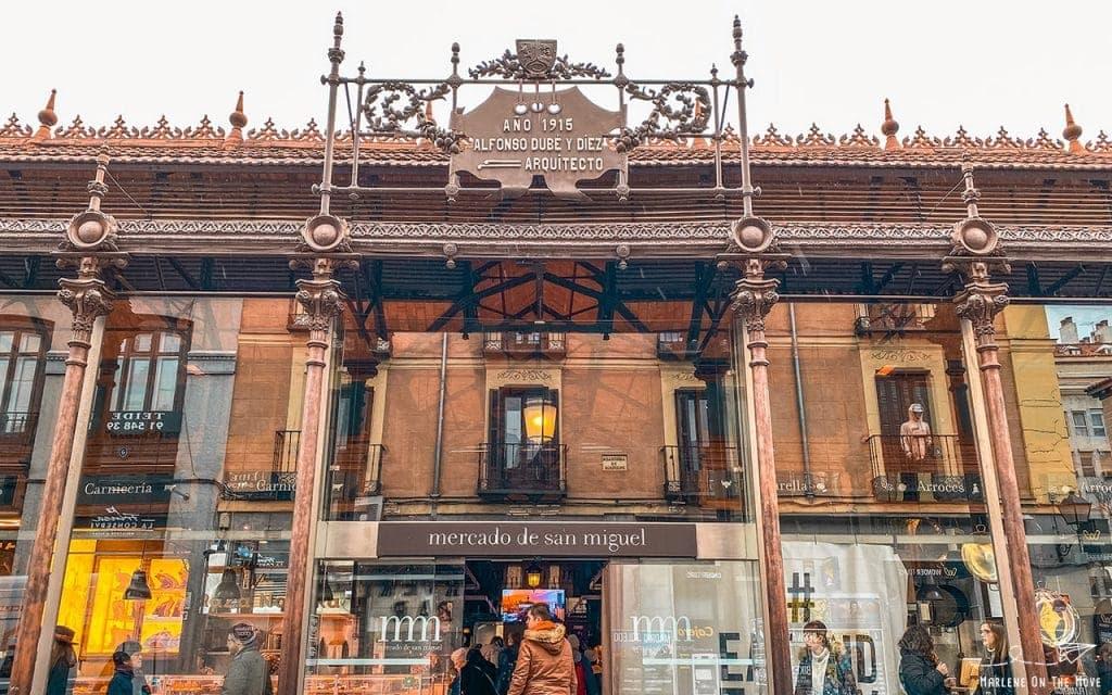 Madrid Mercado San Miguel Market