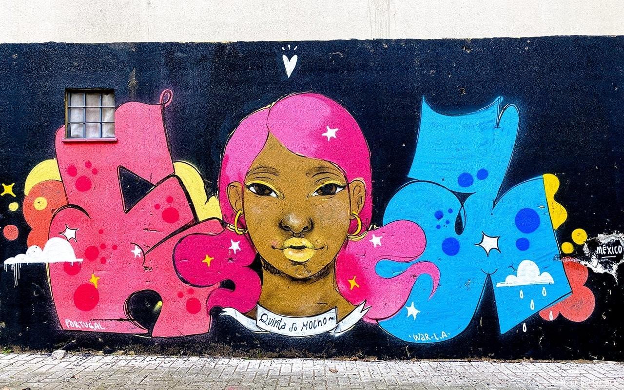 Quinta do Mocho Street Art Lisboa Portugal