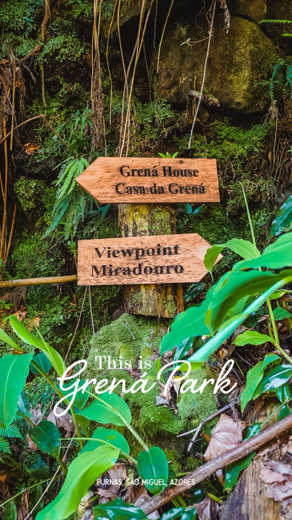 The Grená Park, in Furnas, is a new natural attraction on the island of São Miguel, in the Azores. Discover this paradise that was hidden until now.