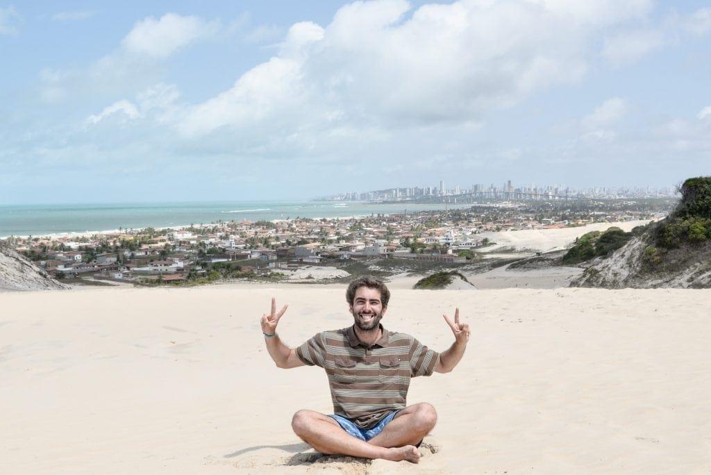 Gonçalo Henriques Num postal no Brasil