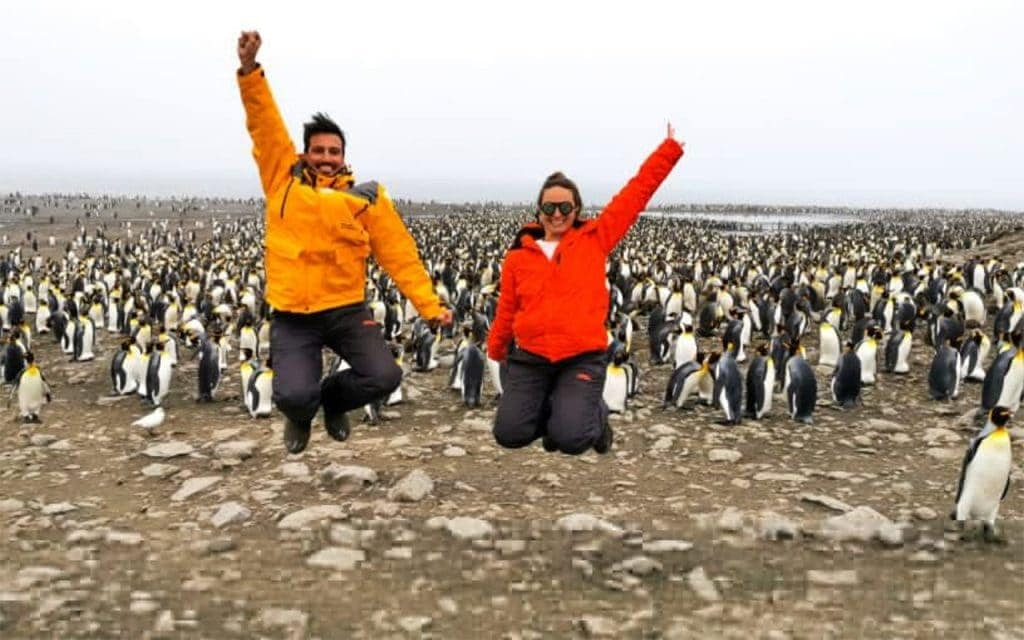 Intrepid Jumpers na Antártida