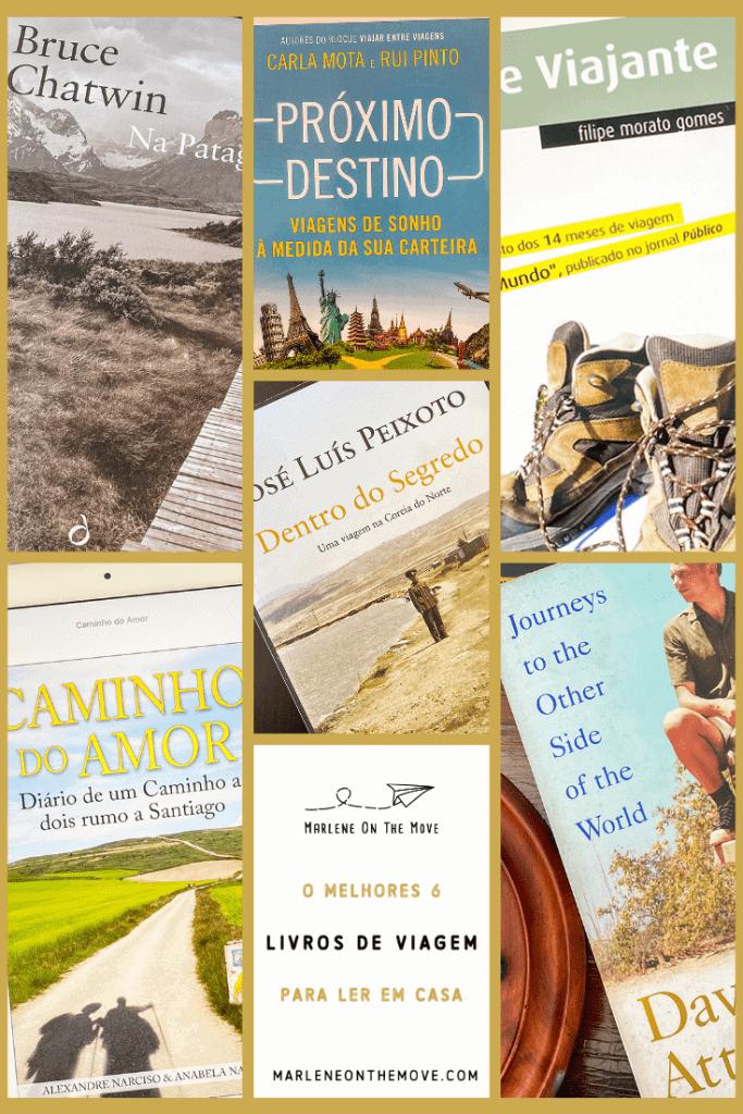 A quarentena pôs-nos em casa, por isso está na hora de colocar a leitura em dia! Estes são os livros de viagem que tenho na prateleira (ou no iPad) e que entregam o mundo sem sair do sofá.
