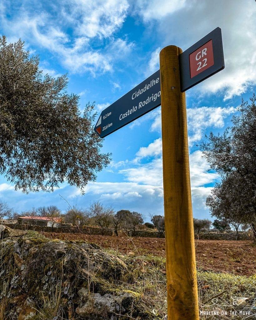 Tabuleta Castelo Rodrigo sign