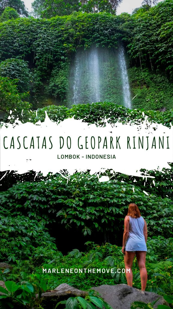 Foi um dos pontos altos da minha última viagem à Indonésia e surgiu do nada. As cascatas do Geopark Rinjani, em Lombok, são de visita obrigatória.