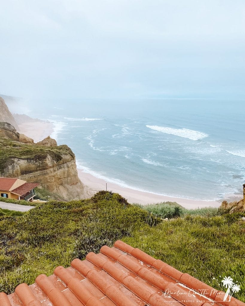 Praia Vale Furado Beach Nazaré Portugal