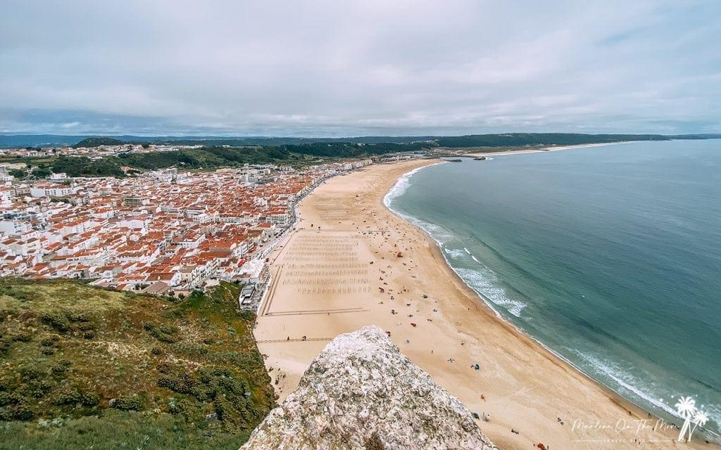 Miradouro do Suberco Viewpoint Nazaré Portugal