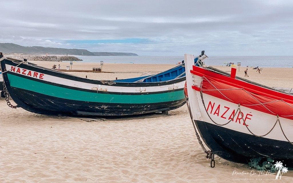 Barcos Nazaré Portugal Boats
