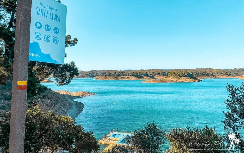 Barragem de Santa Clara Dam
