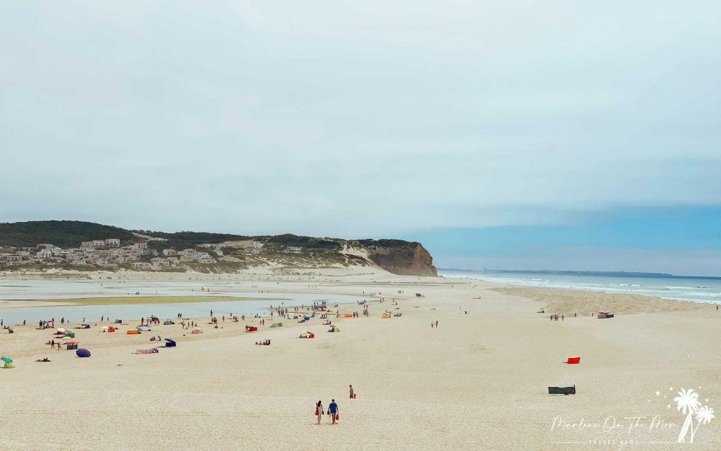 Praia da Foz do Arelho Beach