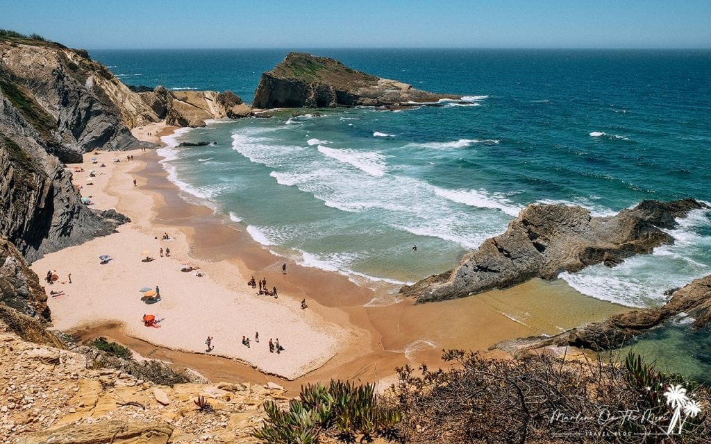 Praia dos Alteirinhos Zambujeira do Mar Beach