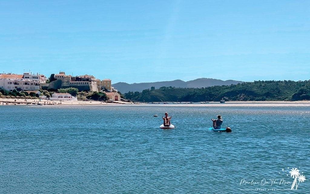 SUP Vila Nova de Milfontes Portugal