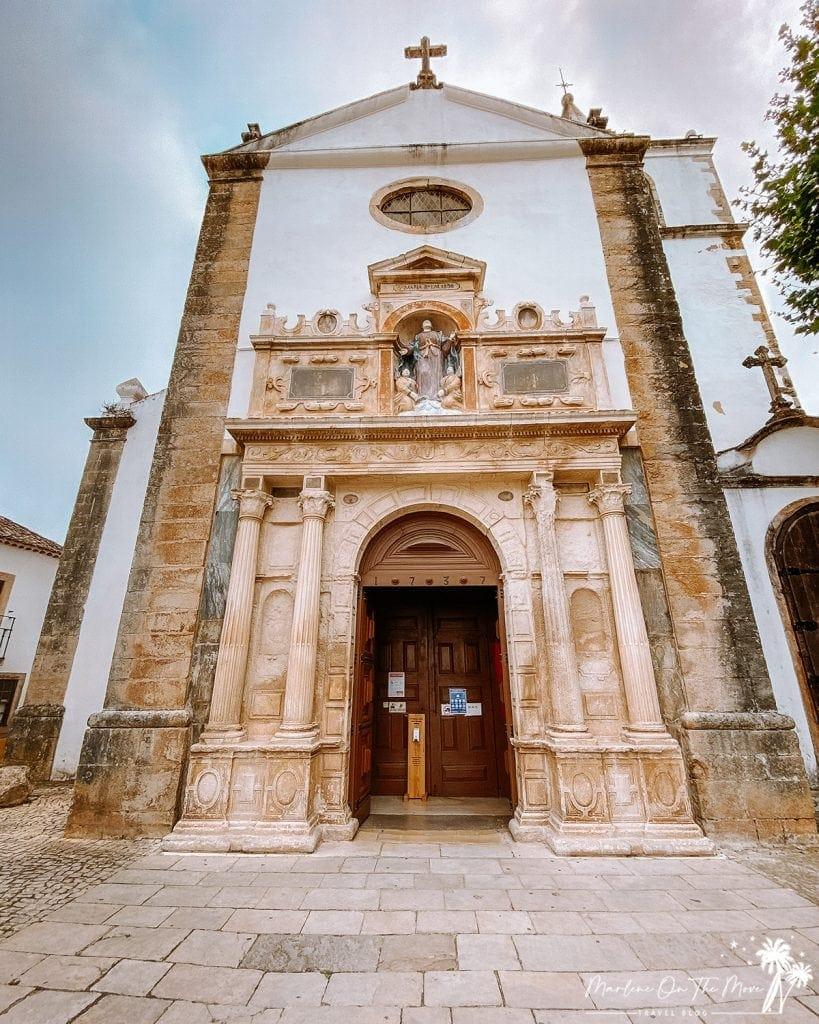 Igreja Santa Maria Church Óbidos