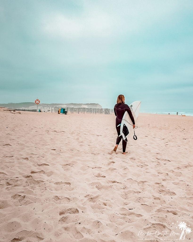 Surf Foz do Arelho Portugal