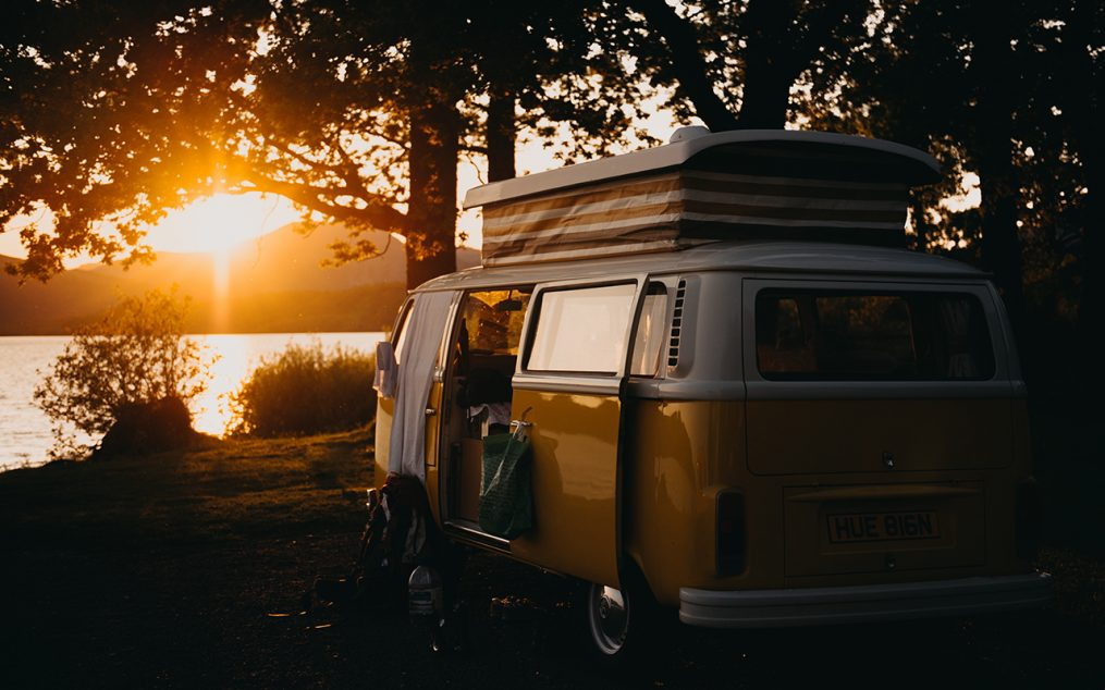 camper-van-sunset