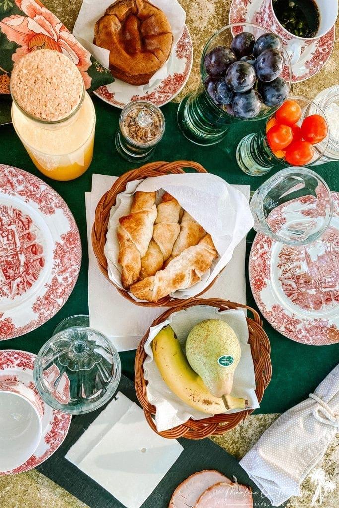 Pequeno-almoço/Beakfast Quinta da Foz do Arelho Portugal