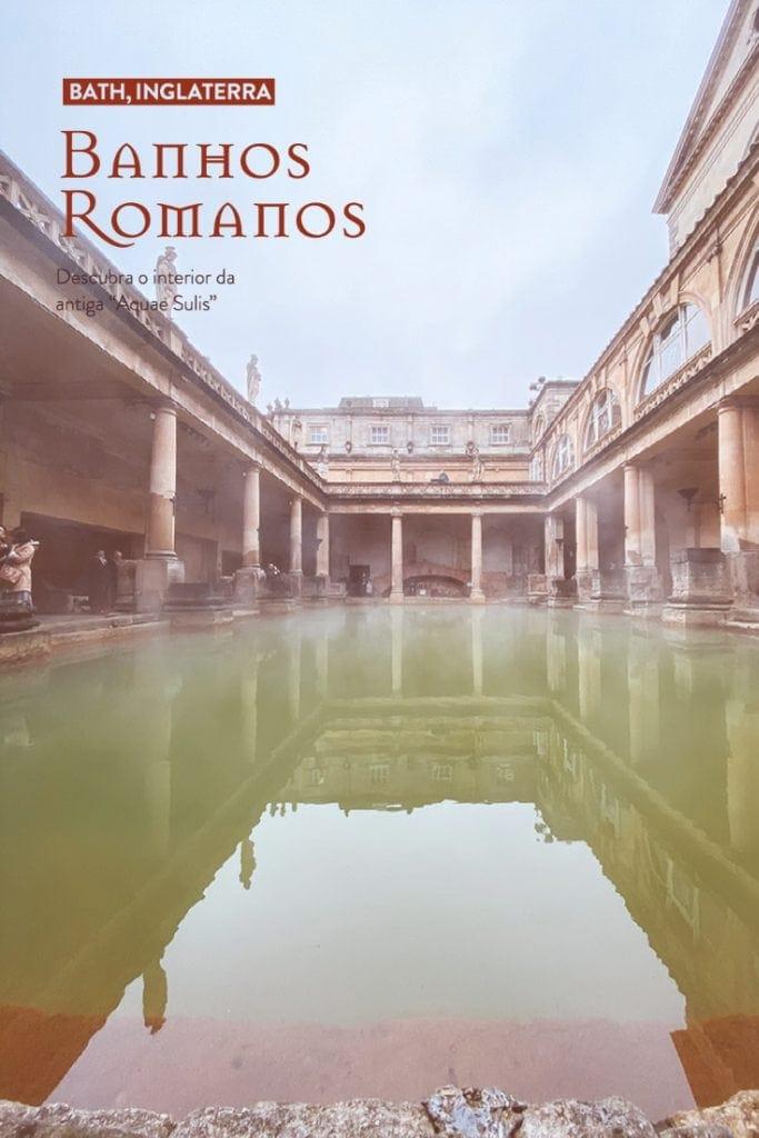 """Conhecido em tempos como """"Aquae Sulis"""", o complexo de banhos romanos em Bath, na Inglaterra, proporciona uma verdadeira viagem no tempo."""