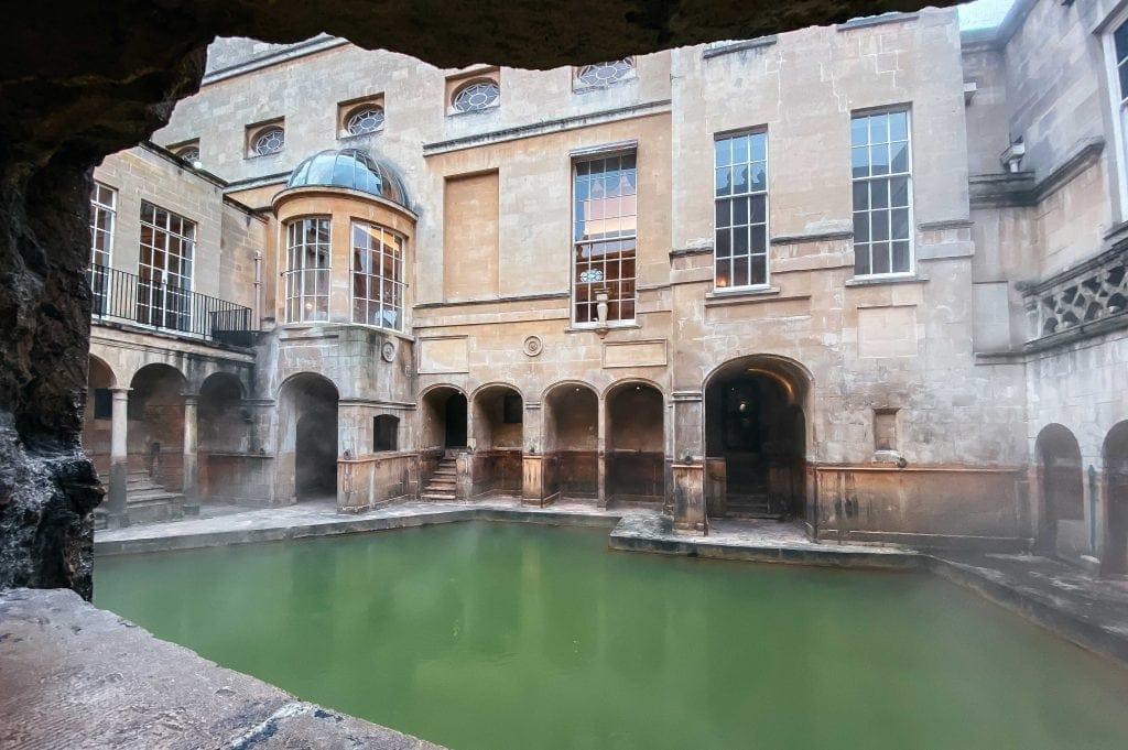 Banhos Romanos em Bath - Roman Baths of Bath