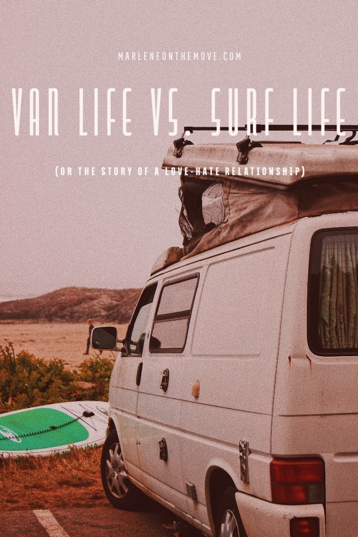 In times past, surfing and van travel went hand in hand. But today, surfers look sideways at these means of transport and the so-called van life that have invaded the beaches.