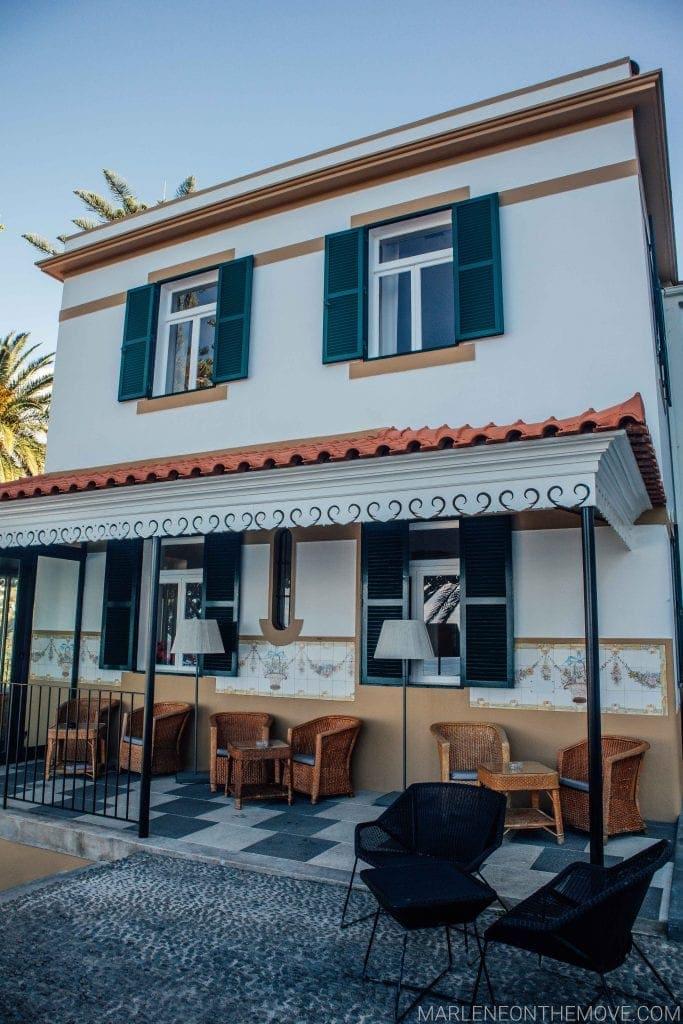 Exterior bar Estalagem da Ponta do Sol