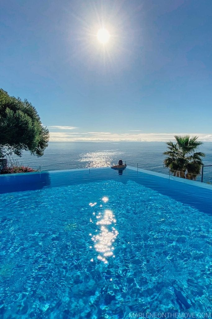 Infinity pool Estalagem Ponta do Sol