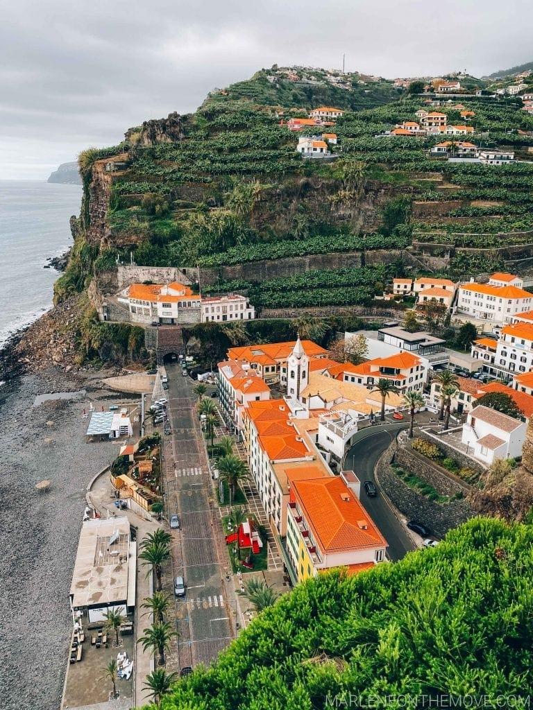 Vista para a Ponta do Sol na Madeira view from the hotel