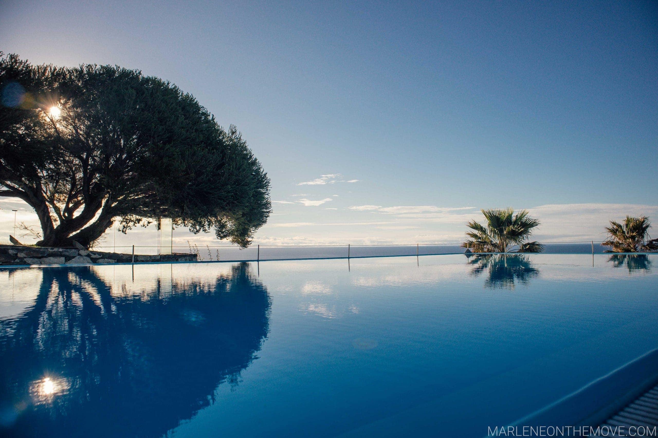 Infinity pool Estalagem Ponta do Sol Madeira