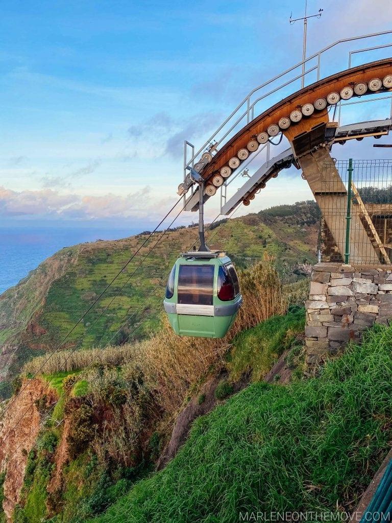 Teleférico das Achadas da Cruz Madeira