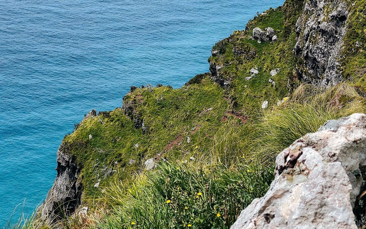 Cara do Índio na Ilha do Corvo