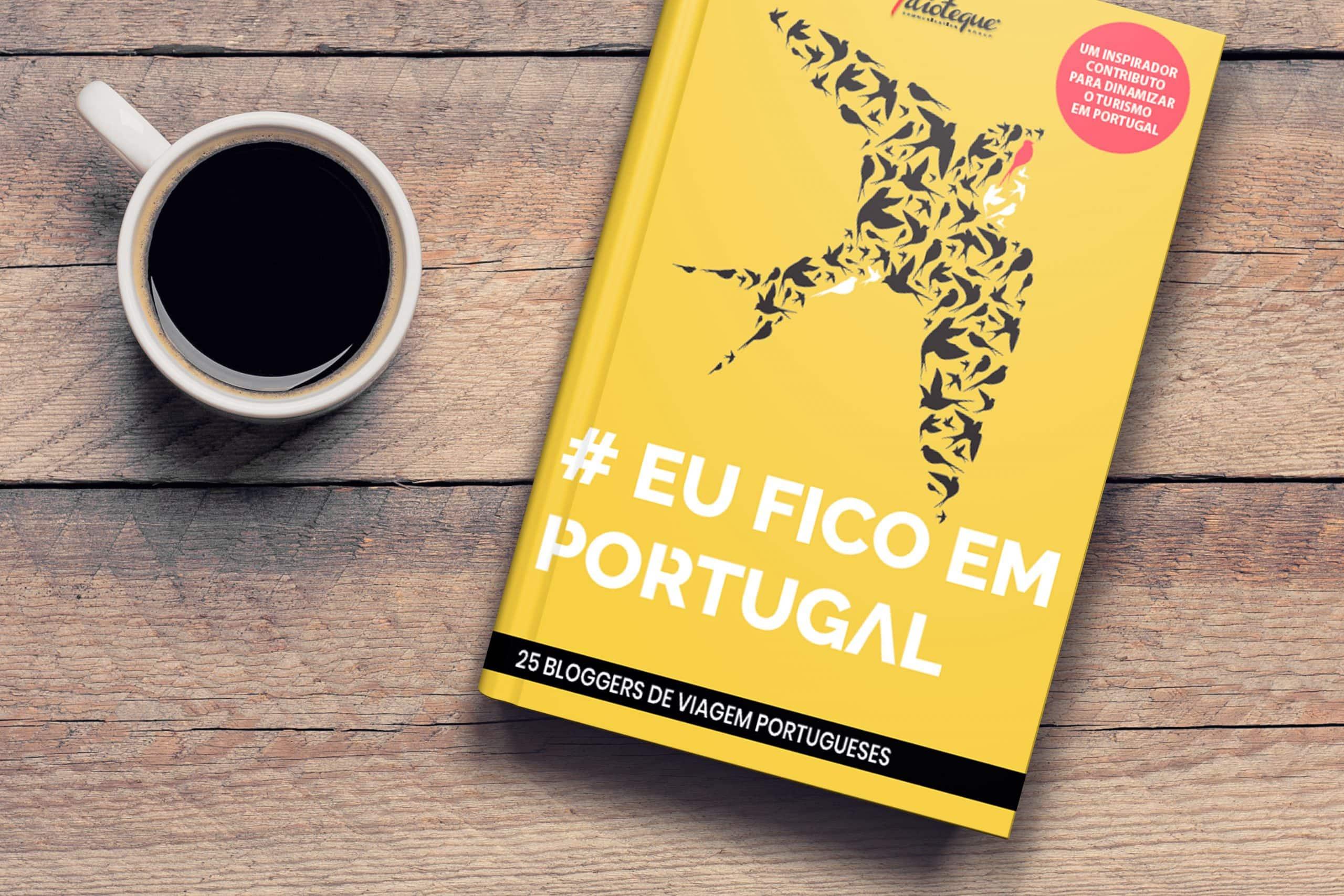 livro eu fico em Portugal