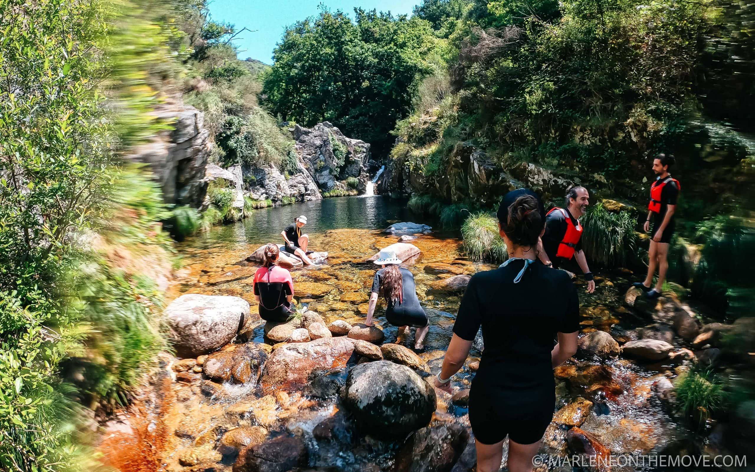 River trekking Soajo
