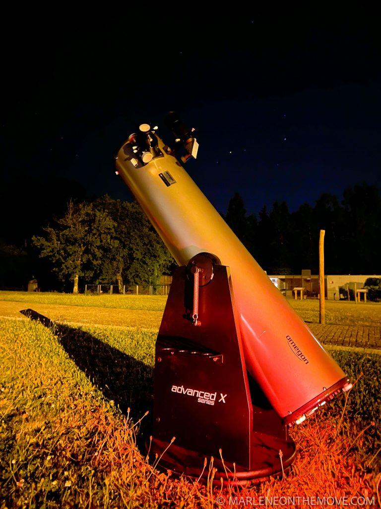 Telescópio na Porta de Mezio