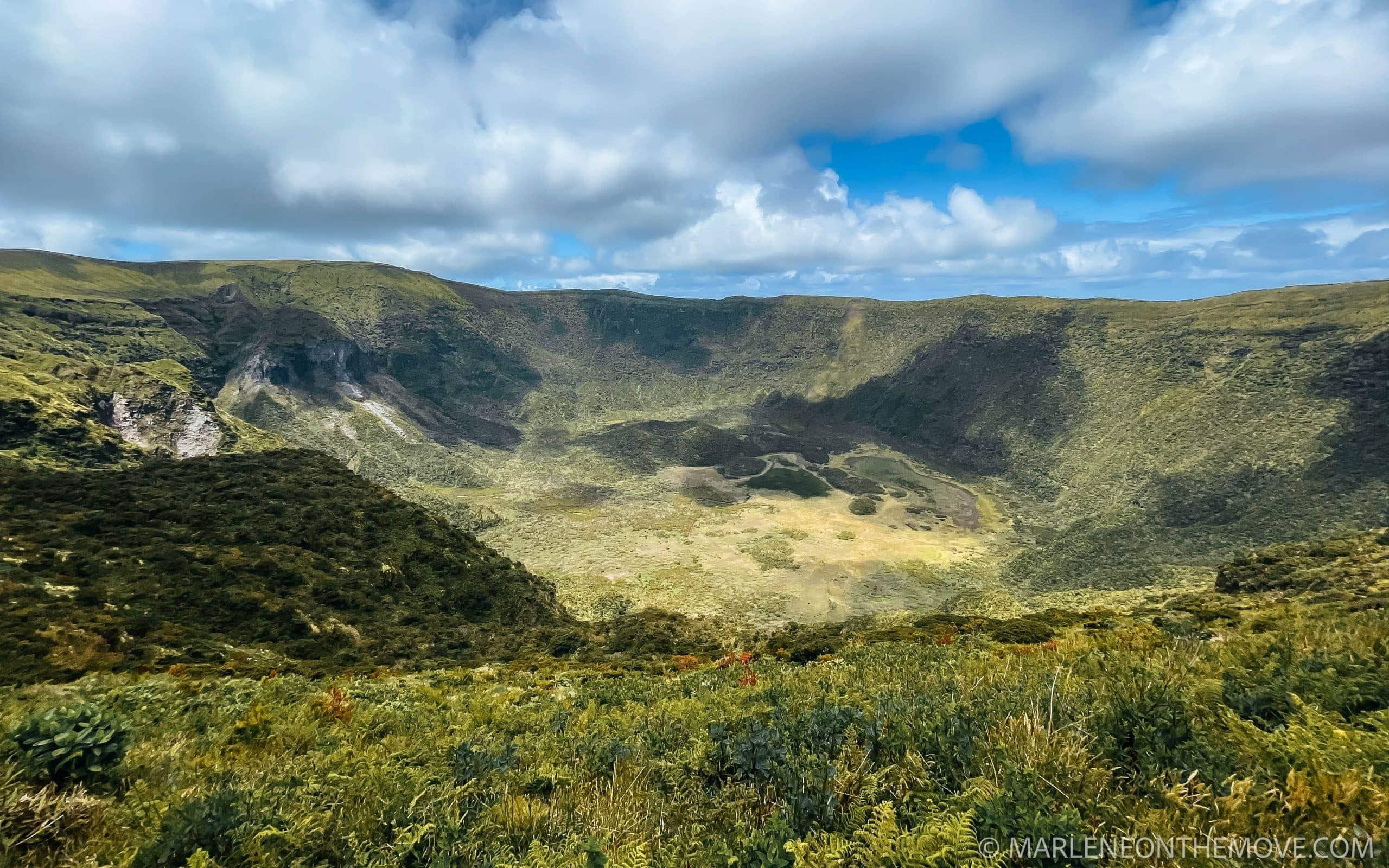 Caldeira do Faial. Faial's crater, Azores