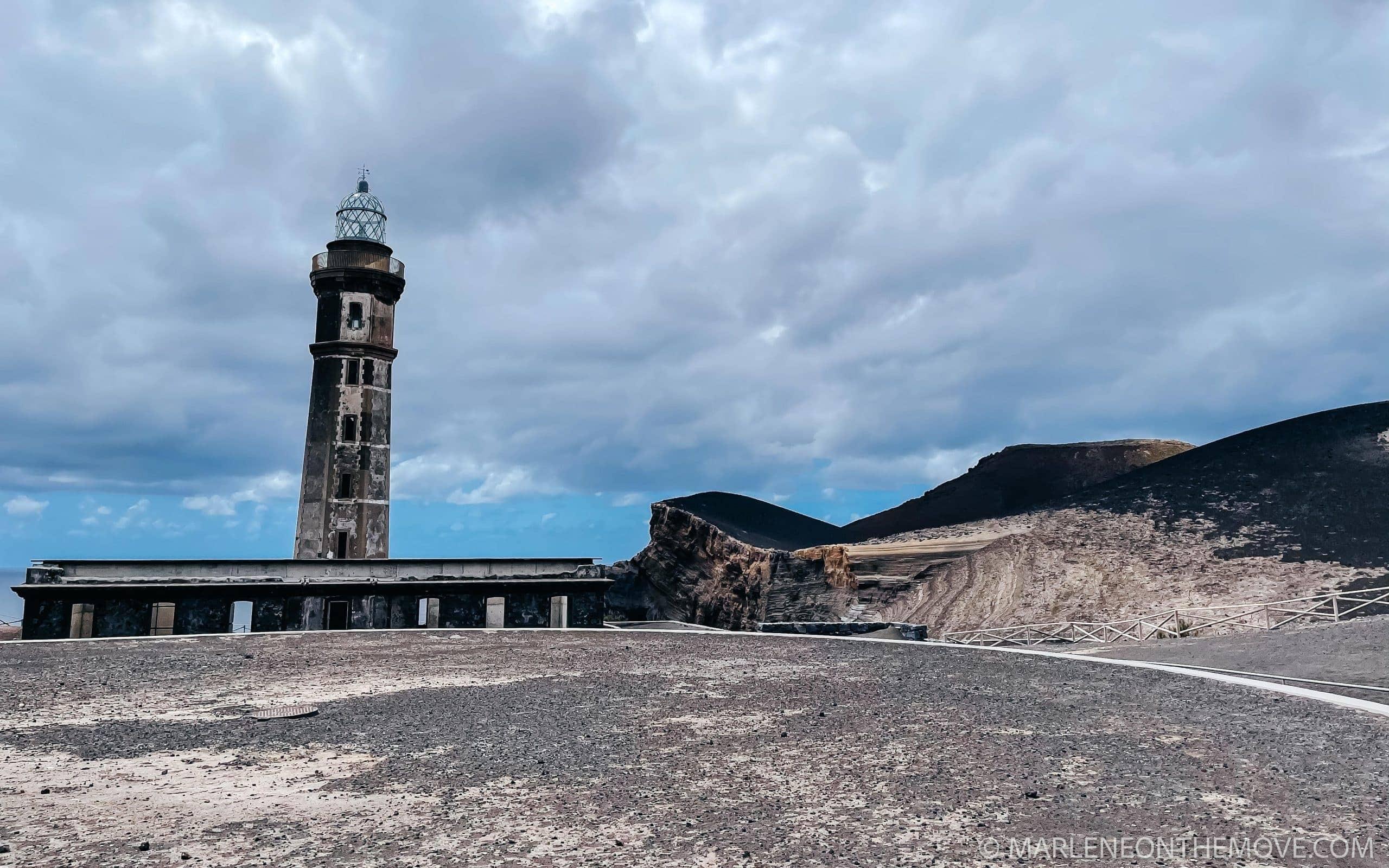 Vulcão dos Capelinhos. Capelinhos Volcano, Faial, Azores