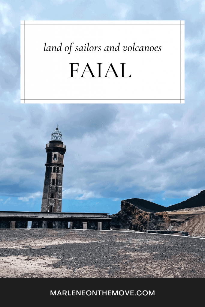 Of the three islands in the central group of the Azores, Faial is perhaps the most famous. After all, it is a stopping port for sailors from all over the world.