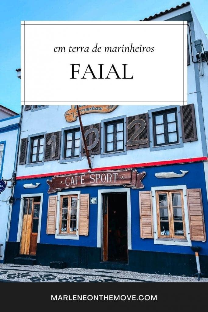 Das três ilhas do grupo central dos Açores, o Faial é talvez a que tenha mais fama. Afinal, é ponto de paragem para navegadores oriundos de todo o mundo.